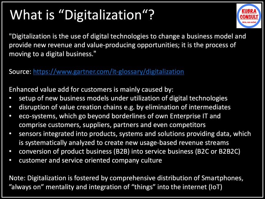 2017-10-29_KuBra Consult - What is Digitalization