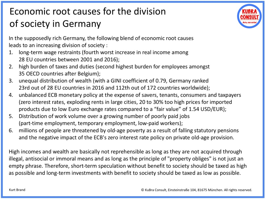 2018-05-05_KuBra Consult - Economic root causes for the division of society in Germany