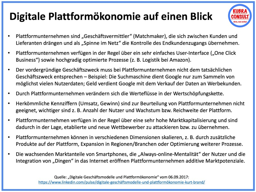 2017-12-17_KuBra Consult - Digitale Plattformökonomie auf einen Blick (white layout)