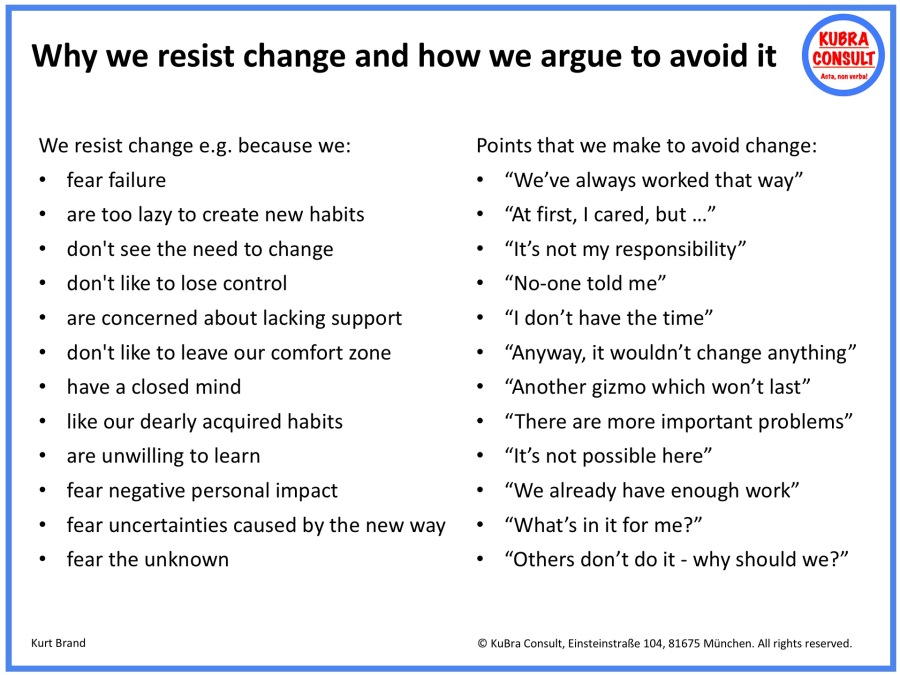 2018-08-28_KuBra Consult - Why we resist change and how we argue to avoid it