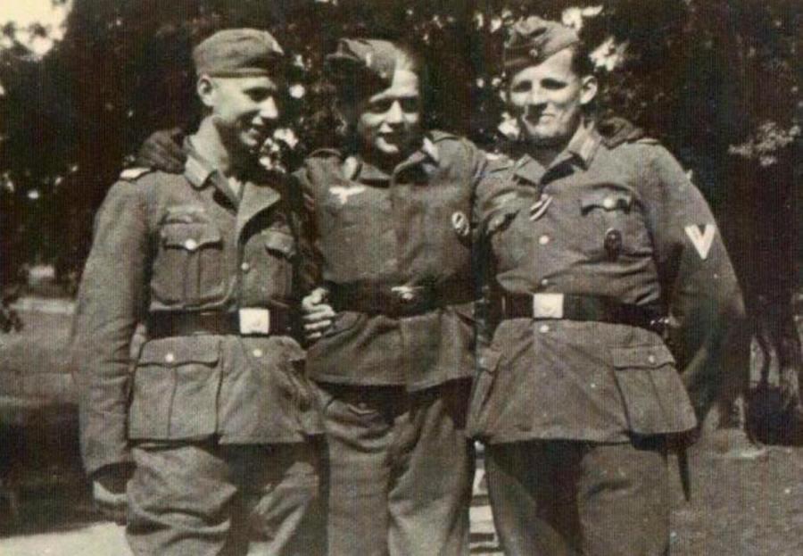 Kurt Brand, Baches Seemann und Friedrich Götte im 2. Weltkrieg