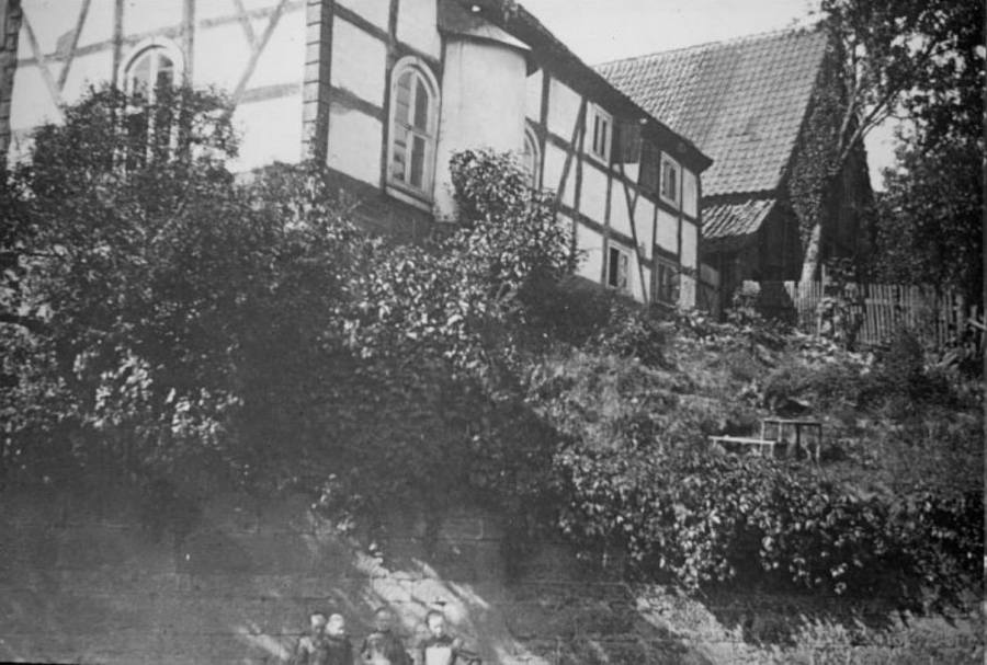 Synagoge in Rhoden vor der Reichskristallnacht