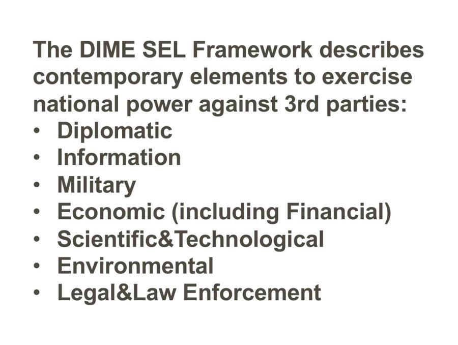 DIME SEL-Framework
